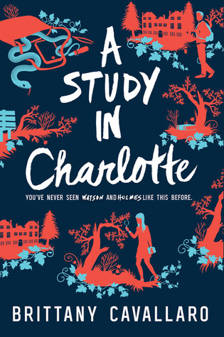 A Study in Charlotte by Brittany Cavarallo Cover and Review