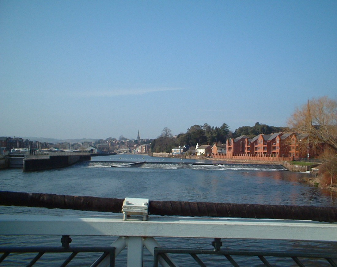 Exeter from Quay bridge cropped