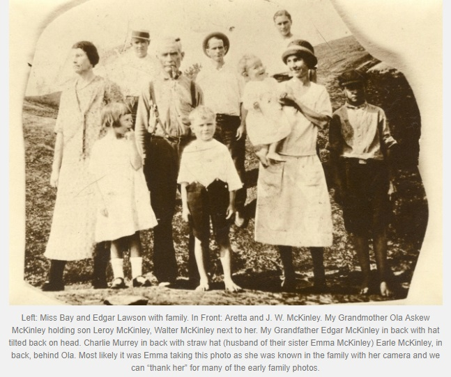 Lawson Mckinley with family clip